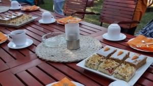 Kaffeetafel in Malchow
