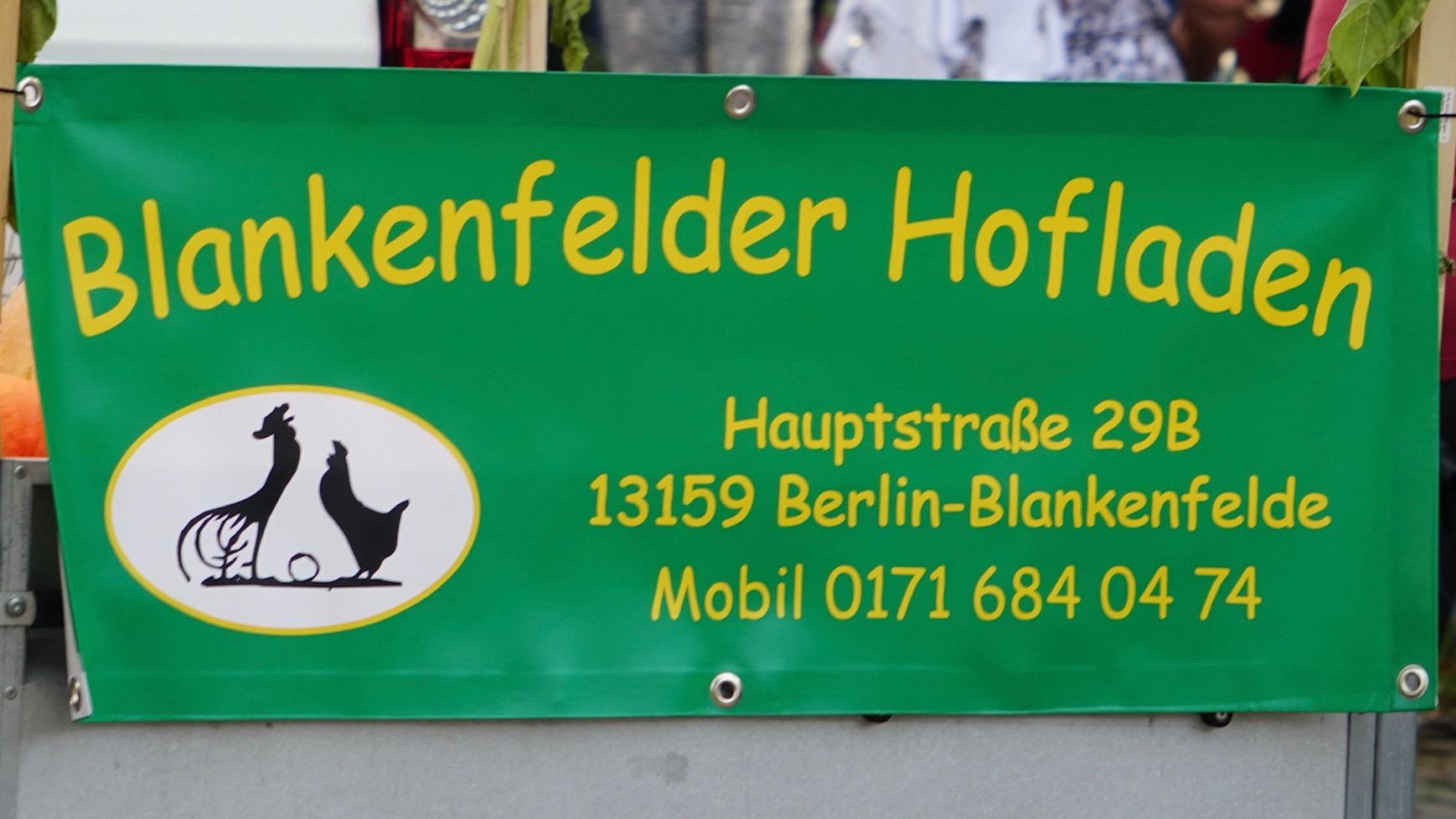 Der Blankenfelder hofladen auf dem Festumzug.