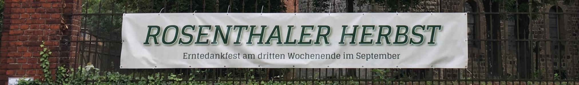 Bürgerverein Dorf Rosenthal e.V.